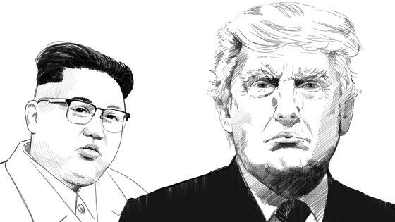 Trump Kim North Korea