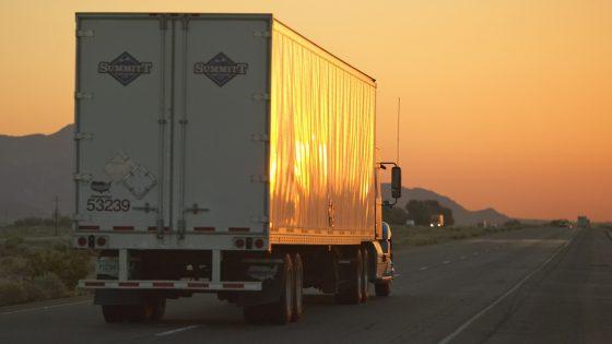 trucker truck semi