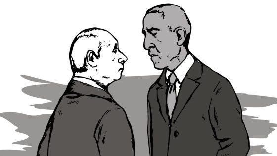 Barack Obama Putin