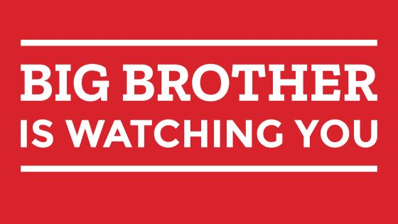 big brother 1984 privacy surveillance
