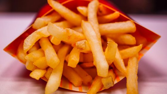 mcdonald's french fries fast food