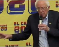 WATCH: Bernie Sanders Just Promised Free College & Health Care to the Undocumented