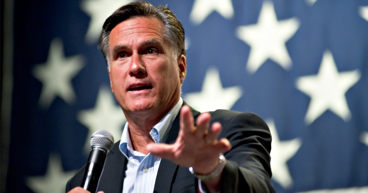 Mitt Romney Says He Supports Impeachment on the Basis of 'Unity'