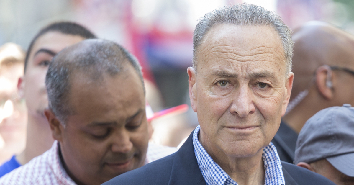 Chuck Schumer Compares Iran's Election Meddling to Trump Talking Points