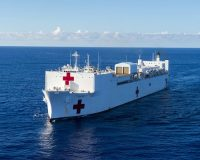 US Navy Brings Massive Floating Hospital to Virus-Stricken NYC