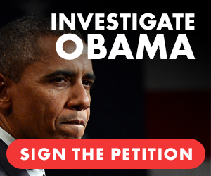Investigate Obama