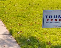 Trump Supporters Wake Up to Find 'Racism Lives Here' Sign in Yard