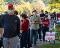 Southern Swing State Sees Record Surge in Early Voting