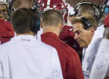 Iron Bowl Football Coach Sidelined with COVID Diagnosis