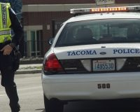 SEE IT:  Police Officer Drives Through Crowd of People in Tacoma, Washington