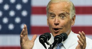 Joe Biden Retells Bizarre Story About Children Playing with His Wet Leg Hair